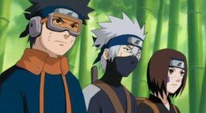 Obito, Kakashi dan Rin