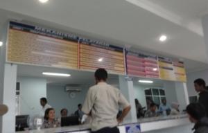 Suasana di SAMSAT Padang